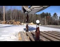 Beer Bottle Excavator Trick