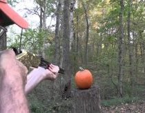 Pumpkin Carving with a Henry Rifle