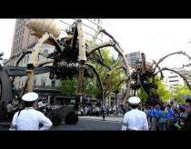 Giant Spider Robot, Yokohama