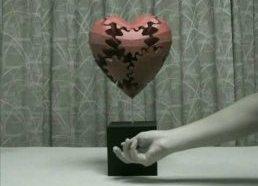 Širdelė iš krumpliaračių