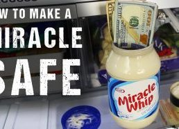 Kaip išradingai paslėpti pinigus majonezo indelyje