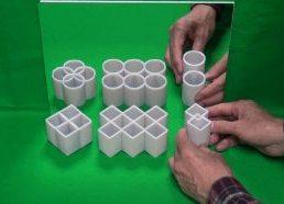 Ar tai cilindrai ar tai blokai - iliuzija