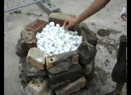 Ping Pong Balls Are Incredibly Flammable!