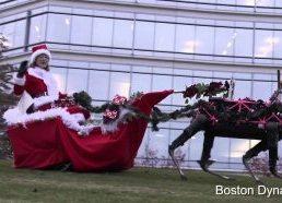 Linksmų švenčių nuo Boston Dynamics