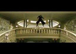 Matrix filmo ištrauka su garsais iš žaidimų