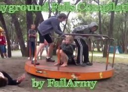 Playground Fails Compilation - video collection