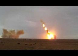 "Crash rocket ""Proton-M"" with 3 Glonass spacecraft"
