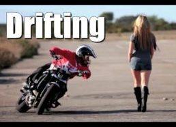 Talentingas Motociklininkas Drifteris - Jorian Ponomareff