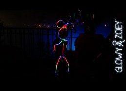 Helovyno kostiumas vaikui su led lemputėmis