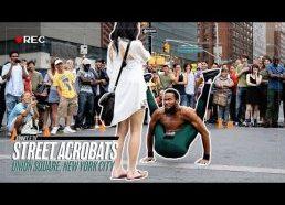 Gatvės akrobatai - Vienybės aikštė, Niujorkas