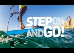 Paddleboard stepper