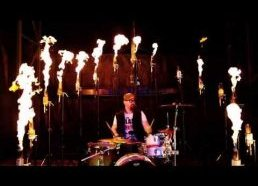 Drums on Fire - FirePixels with Tyler Williams