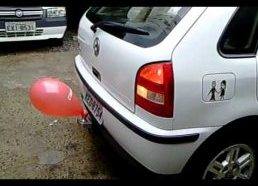 Brazilian DIY parking sensor