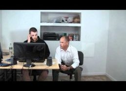 Office prank gone wrong!
