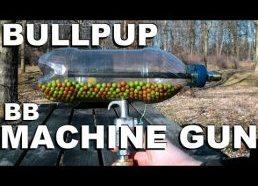 Namudinis airsoft šautuvas pagamintas iš plastikinio butelio