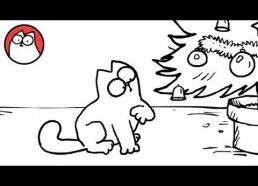 Simon's Cat in 'Santa Claws'