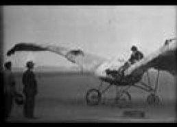Pirmieji skrydžių bandymai (tylusis kinas)