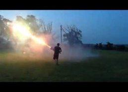 Roman Candle Machine Gun