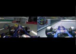 Formulė 1 2011 06 Monaco vaizdas iš Vetelio automobilio