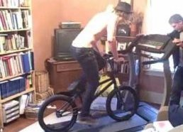 How Not to Use a Treadmill (especially with bike)