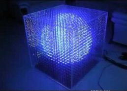 Night Works 3d LED CUBE