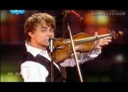 2009 metų Eurovizijos Nugalėtojas Alexander Rybak Fairytale