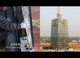 Kinija - 30 aukštų gyvenamasis pastatas pastatytas vos per 15 dienų