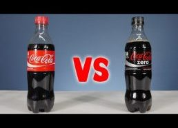 Coca Cola vs Coca Cola Zero - Sugar Test