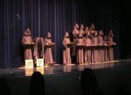 Silent Monks Singing Halleluia