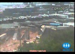 Milžiniška nuošliauža pridarė bėdų Brazilijos Uostui