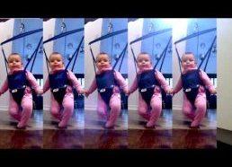 Kūdikis šoka stepą - lord of the dance motyvais