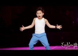 Gangnam Style Vaikas (gal net negesnis uz PSY)