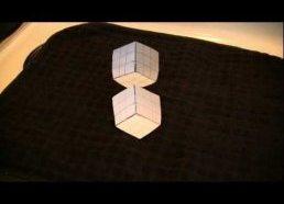 Optinės iliuzijos - Keisti 3D kūbai