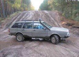 Passatas pritaikytas važiuoti bekele - VW Passat