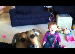 Vaiko juokas nufilmuotas sulėtintai