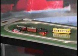Superkonduktyvus traukinio modelis