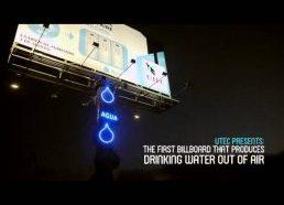 Išradimas kuris padeda surinkti vandenį iš oro