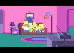 SIMPSONS PIXELS