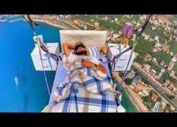 Gliding with a bed