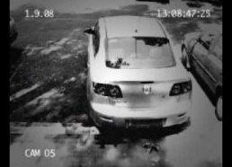 Pavogė mašiną su tuščiom skardinėm