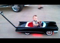 Brady Cash Custom Cadillac Baby Stroller