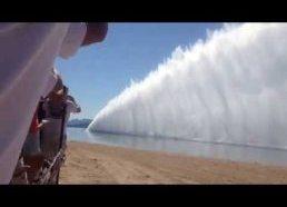 Katerių traukos lenktynės 262mph (422km/h) - ežeras Havasu kalifornija