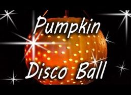 Pumpkin Disco Ball - Halloween Party