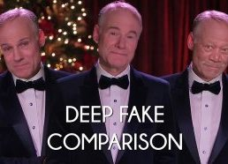 Deep Fake Comparison - Deeper metrics of Christmas by Jim Meskimen