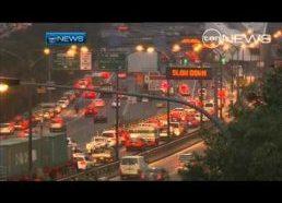 Naujas STOP ženklas fūrų vairuotojams - ženklas prieš tunelį