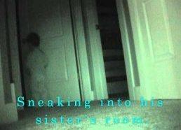 Berniukas naktį pavagia pagalvę iš savo sesutės kambario