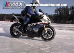 BMW Motociklas S1000RR ant Ledo(125 km/h) - MAX BMW