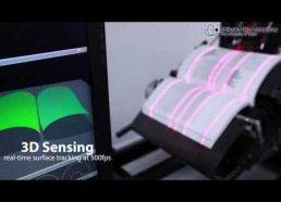 Greita knygų skenavimo mašina (250 puslapių per minutę)