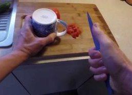 Kaip pagaląsti peilį - be jokių specialių įrankių
