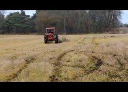 Traktorius su turbo varikliu Švedijoje